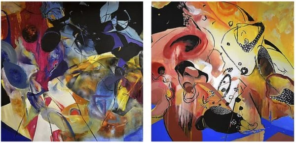 Athenaeum Gallery Presents Michael Spears Visual Music: Rhythm and Melody