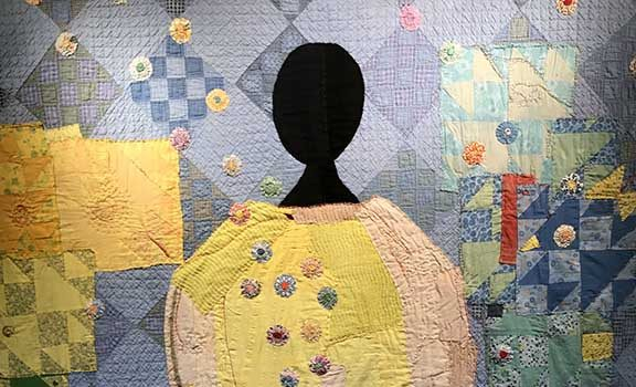 Portico Gallery Hosts Mini-Artist Reception for Imani W. Russell's Stitched Alchemy