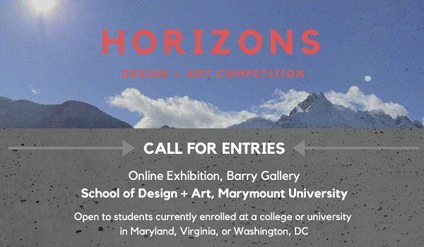 Marymount University Call for Entry: Horizons