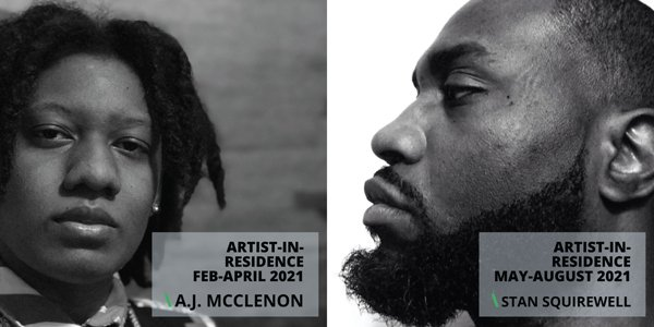 Nicholson Project Announces 2021 Artists-in-Residence, A.J. McClenon and Stan Squirewell