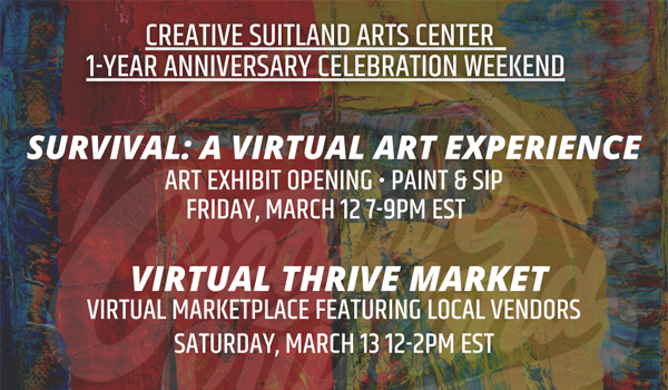 Celebrate Creative Suitland's One Year Anniversary!