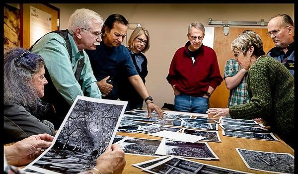 Photoworks at Glen Echo Park Hosts Coffee and Critique