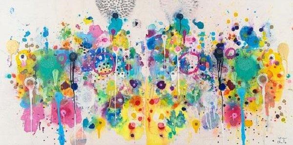 Morton Fine Art Presents Liz Tran The Webs Installed by Our Dreams