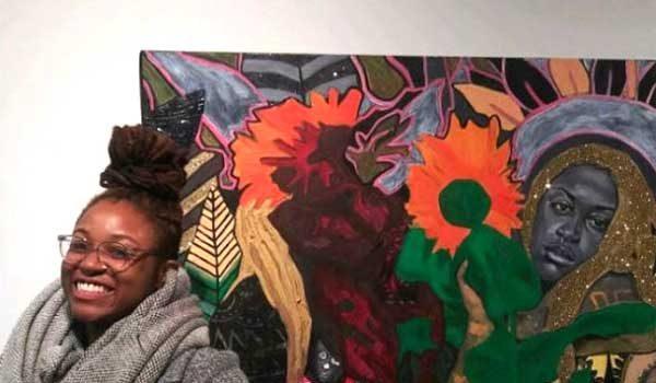The Spiritual Artwork of Asha Elana Casey Artwork Reflects Her Transformative Awakening