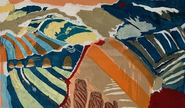 Washington Printmakers Gallery Presents Jessie Nebraska Gifford Carving Color: West to East