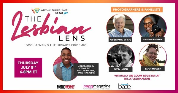 Whitman-Walker Health Host a Panel Discussion for The Lesbian Lens: Documenting the HIV/AIDS Epidemic in DC