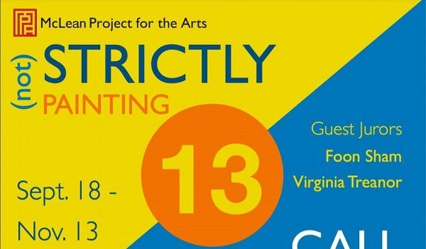 McLean Project for the Arts Call for Entries: (Not) Strictly Painting