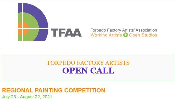 Torpedo Factory Artists' Association Regional Painting Competition
