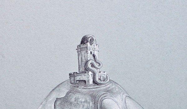 East City Art Reviews—Erik Thor Sandberg's New Drawings: Art Historical Reflections